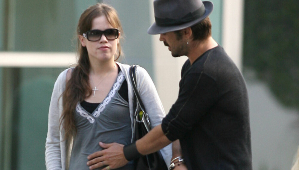Colin Farrell og Muireann McDonnell venter barn.