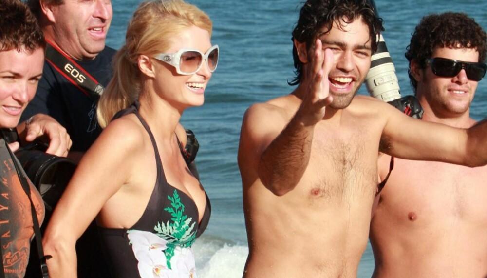 Paris Hilton og Adrien Grenier