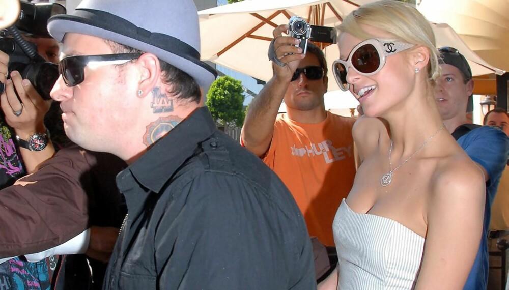 Benji Madden og Paris Hilton