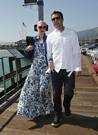 Gavin Rossdale og Gwen Stefani