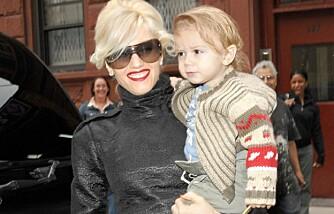 Gwen Stefani og sønnen Kingston