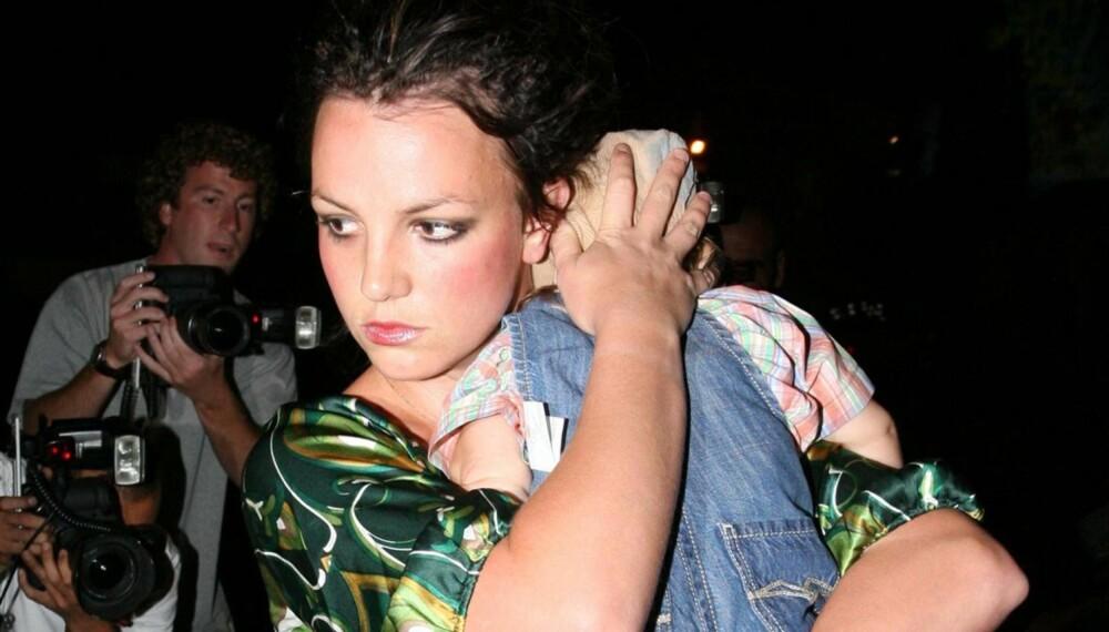 Britney Spears med minstesønnen Jayden James