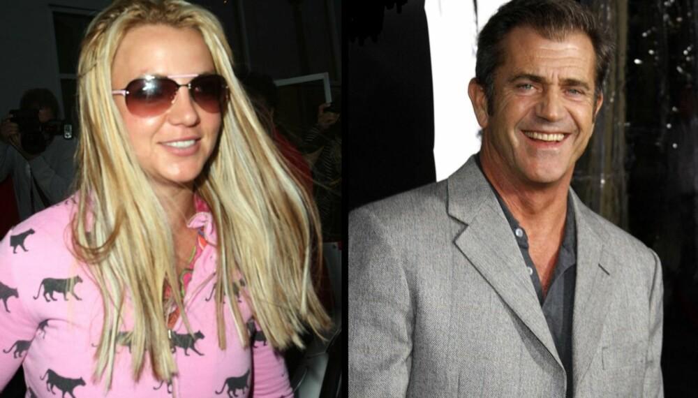 Britney Spears og Mel Gibson