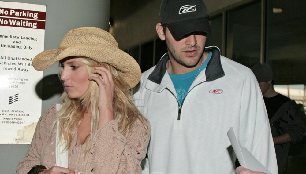 Jessica Simpson og Tony Romo