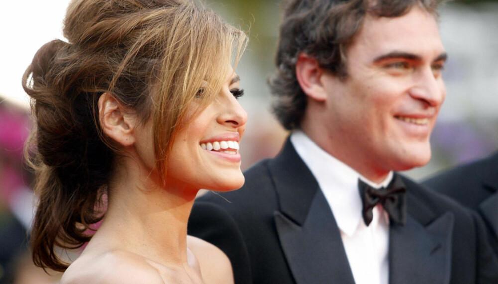 Eva Mendes og Joaquin Phoenix