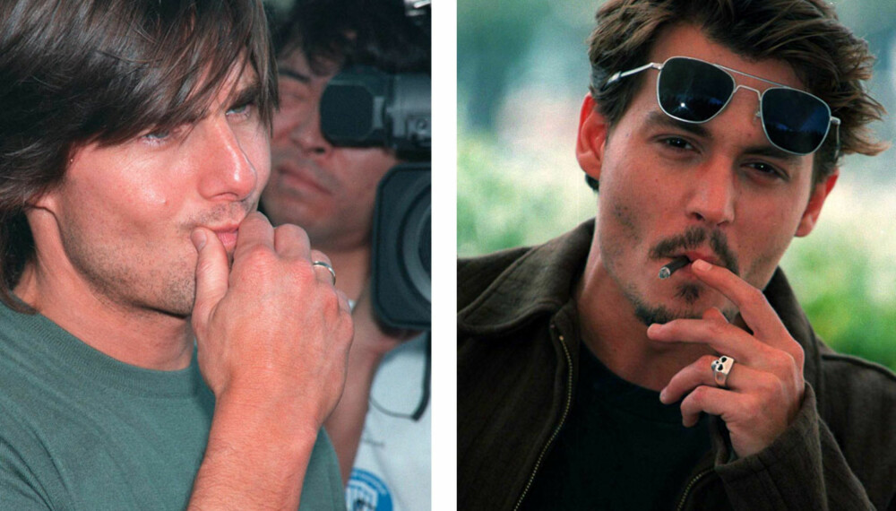 Tom Cruise og Johnny Depp