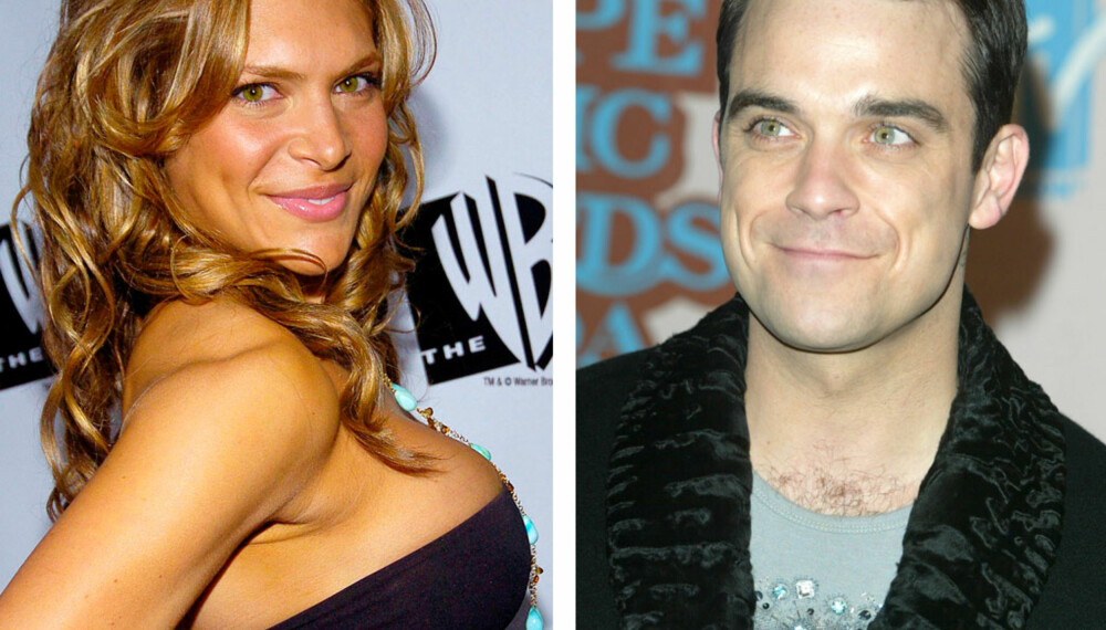 Ayda Field og Robbie Williams