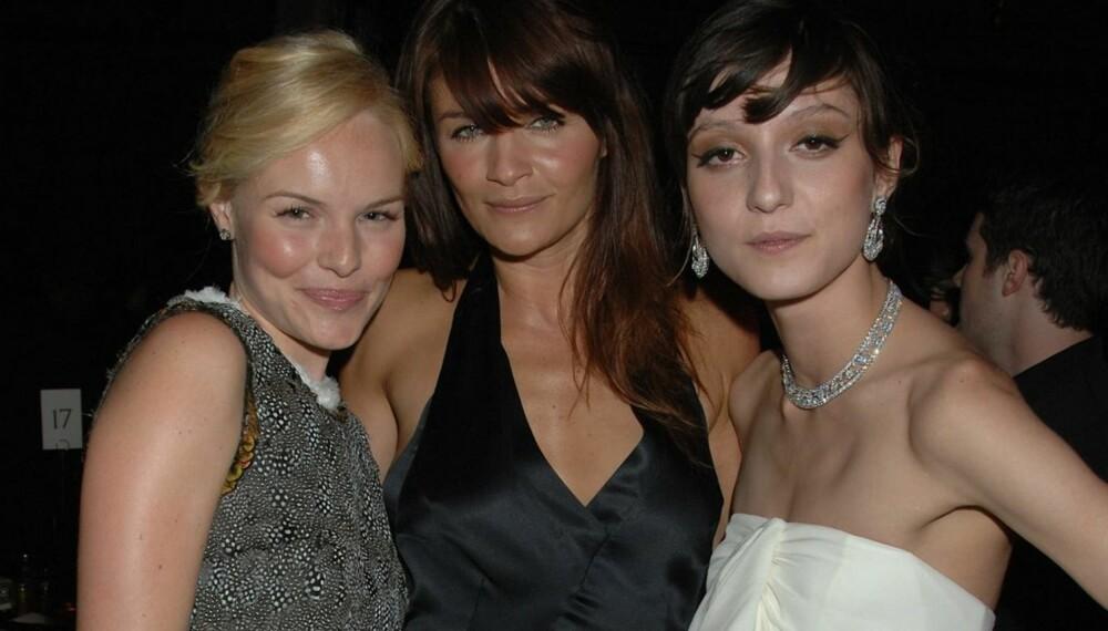 Kate Bosworth, Helena Christensen og Irina Lazareanu