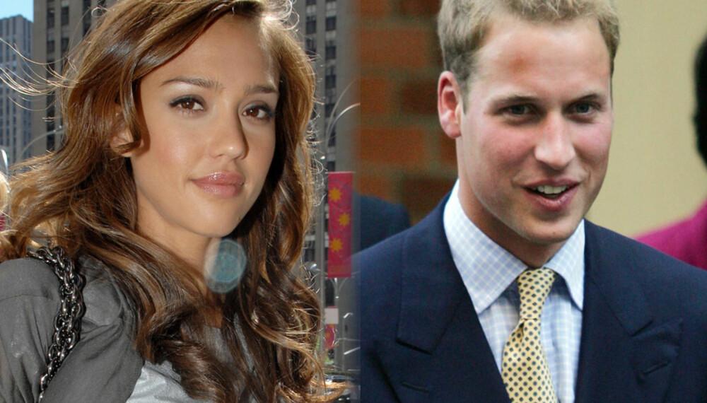 Jessica Alba og prins William