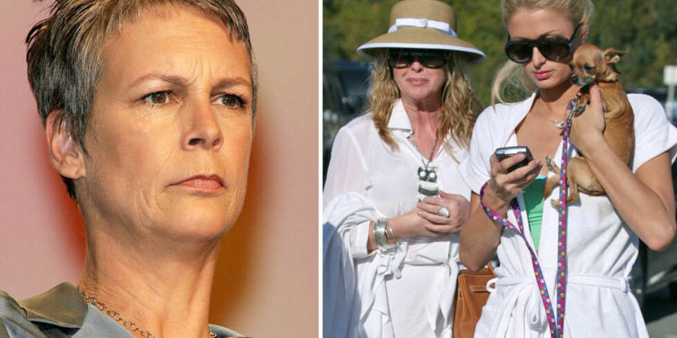 Jamie Lee Curtis, Paris og Cathy Hilton