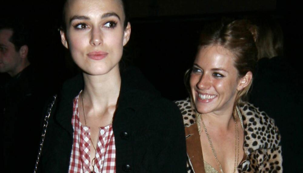 Keira Knightley og Sienna Miller