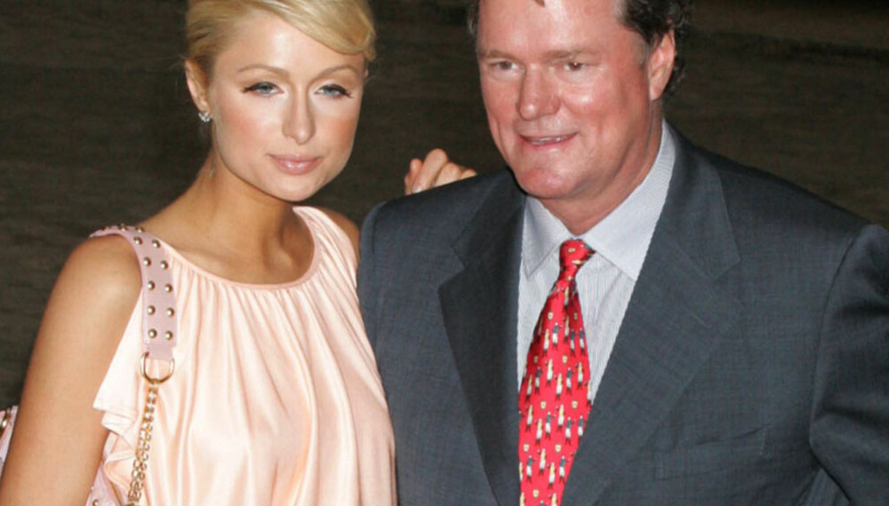 Paris Hilton med pappa Rick Hilton