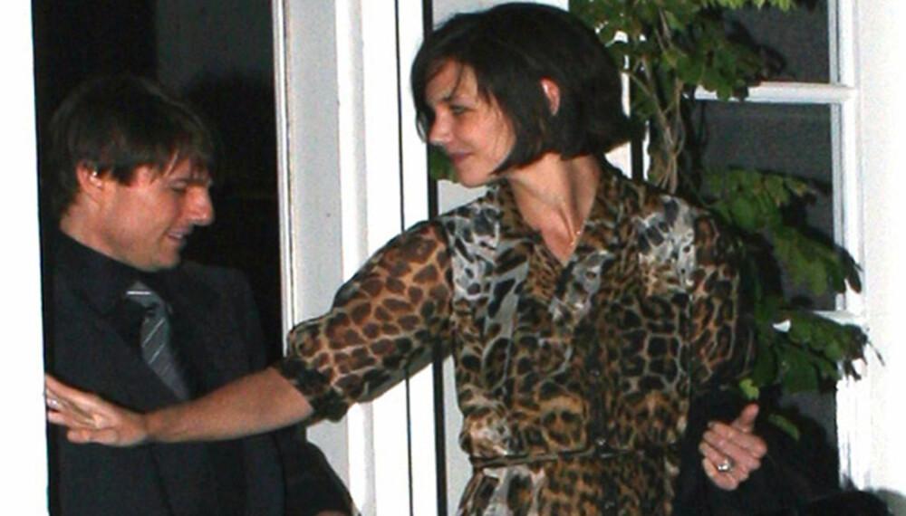 Tom Cruise og Katie Holmes