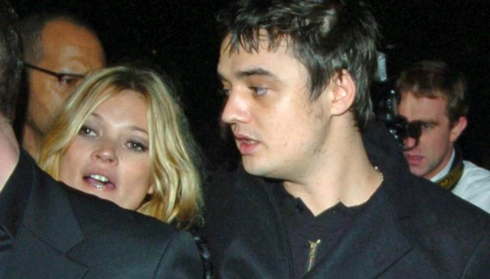 Kate Moss og Pete Doherty