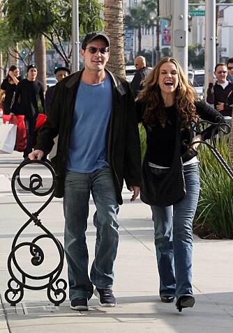 Charlie Sheen og Brooke Mueller