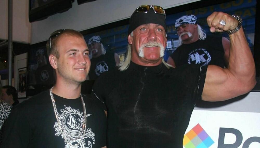 Nick og Hulk Hogan