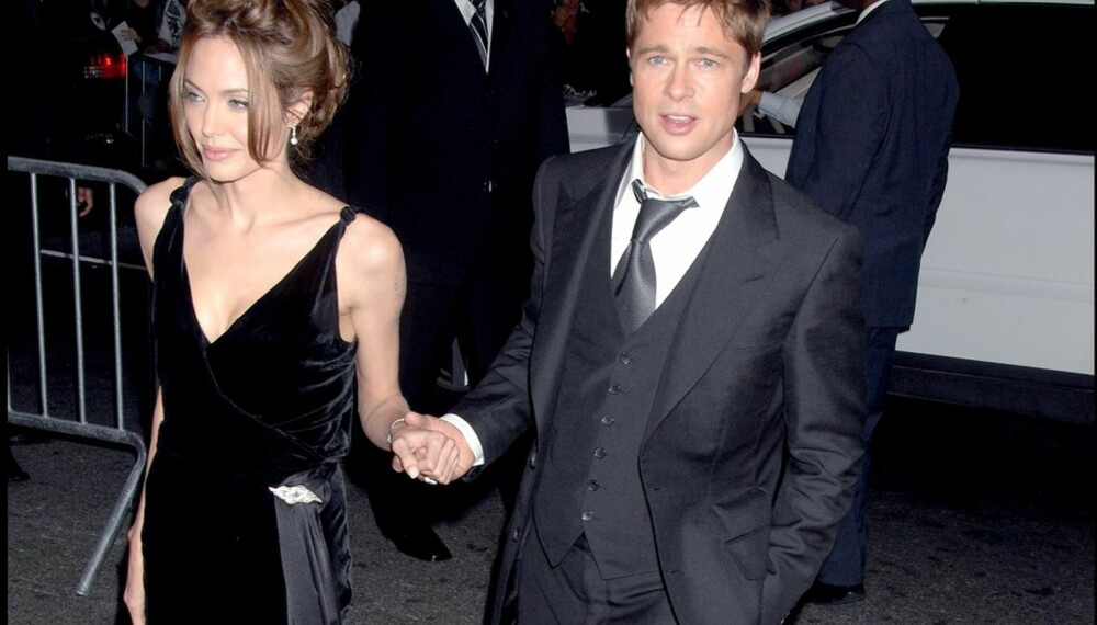 Angelina Jolie og Brad Pitt på premiere