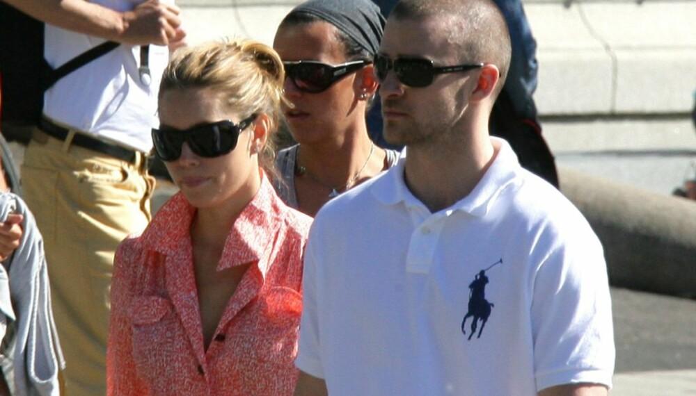 Justin Timberlake og Jessica Biel i Oslo