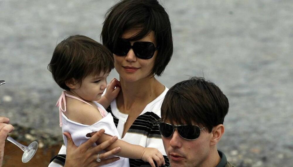 Tom Cruise, Katie Holmes og Suri