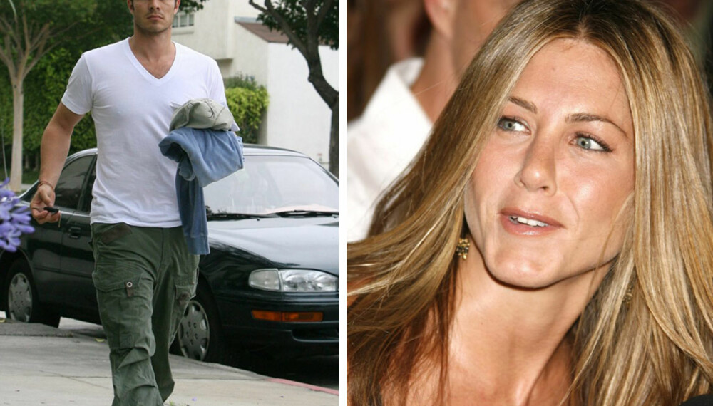 Jennifer Aniston og Paul Sculfor