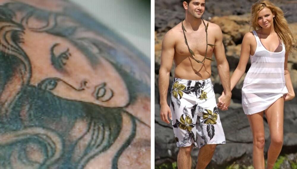 Jesse Metcalfes tatovering