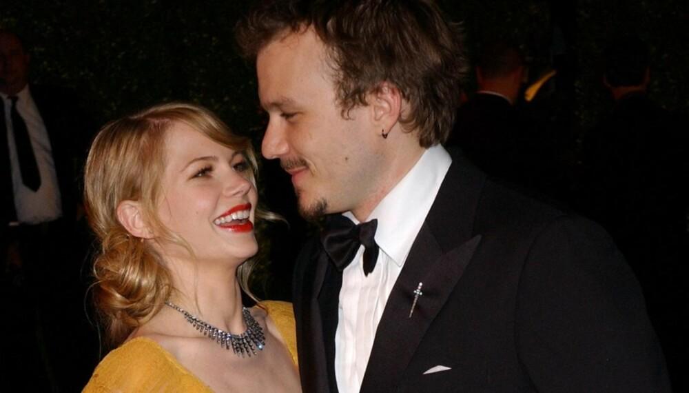 Michelle Williams og Heath Ledger