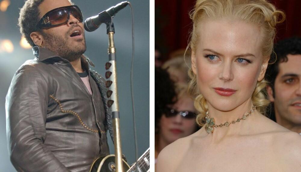 Lenny Kravitz og Nicole Kidman