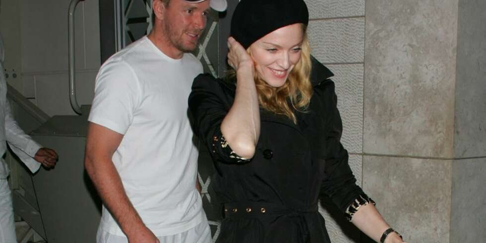 Madonna og Guy Ritchie