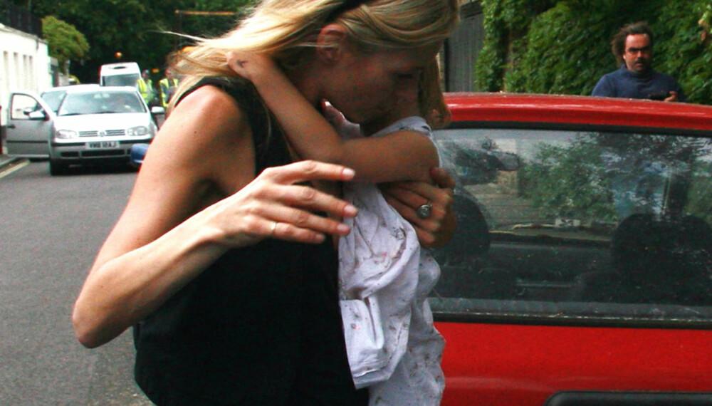 Kate Moss og datteren Lila Grace