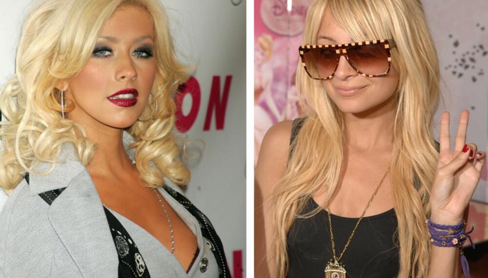 Christina Aguilera og Nicole Richie