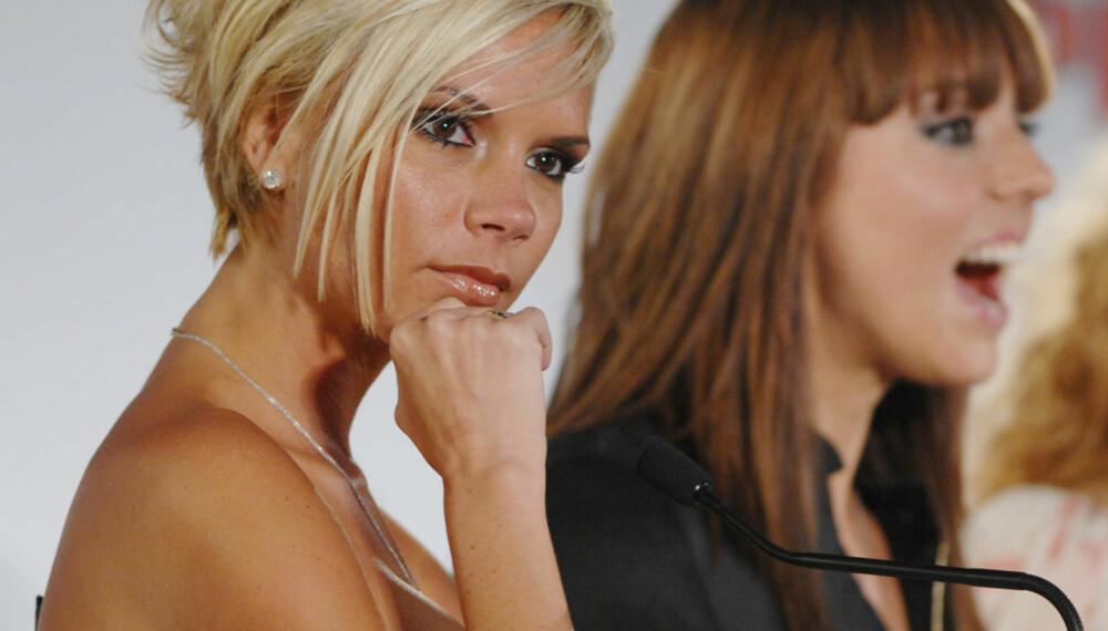 Victoria Beckham og Melanie Chisholm