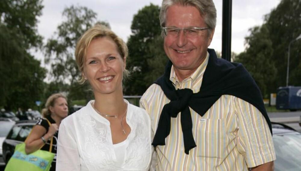 Catharina Munthe og Fabian Stang