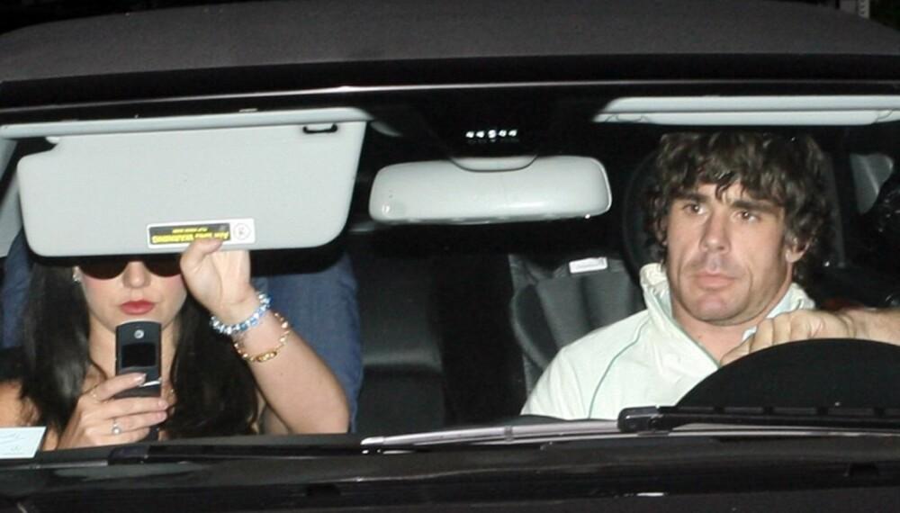 Britney Spears og hennes nye kjæreste