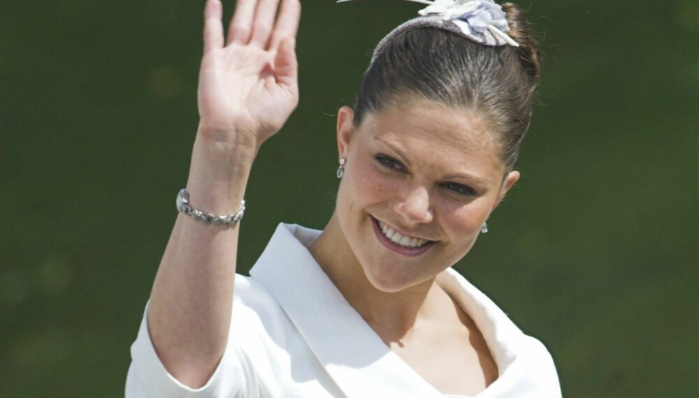 Kronprinsesse Victoria, her i dåp for den danske prinsessen