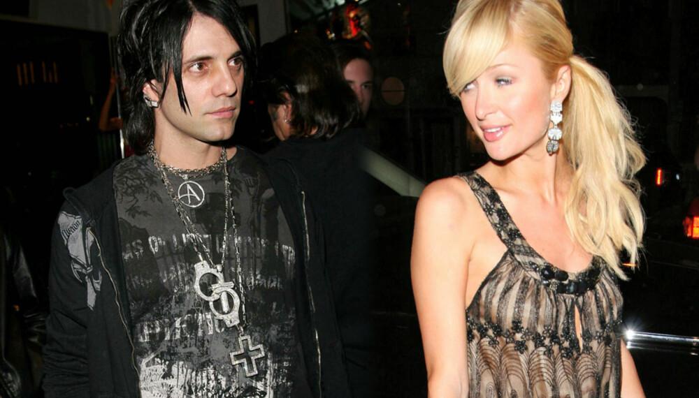 Criss Angel og Paris Hilton