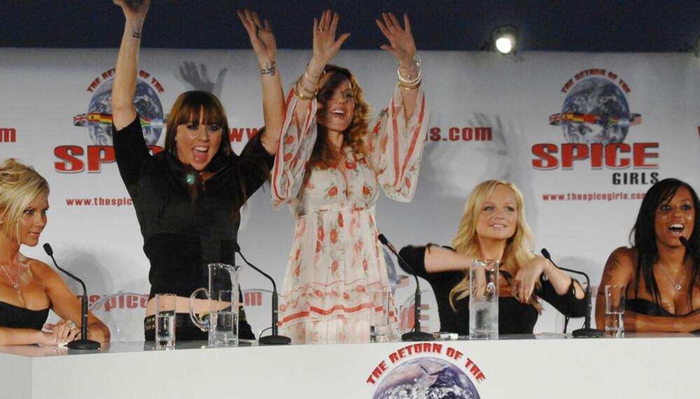 Nye Spice Girls