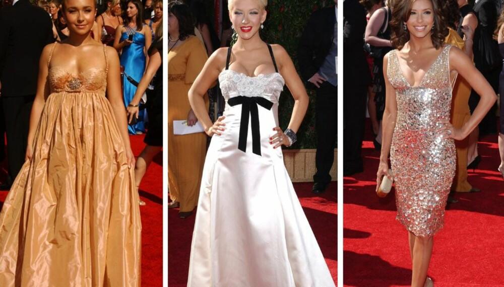 Emmy-kjolene: Hayden Panettiere, Christina Aguilera og Eva Longoria