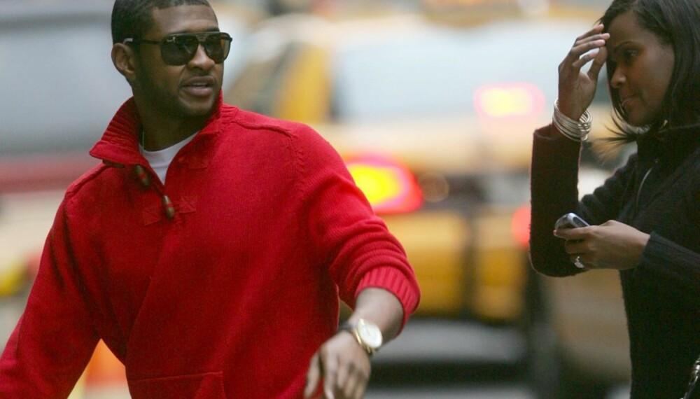 Usher og Tameka Foster