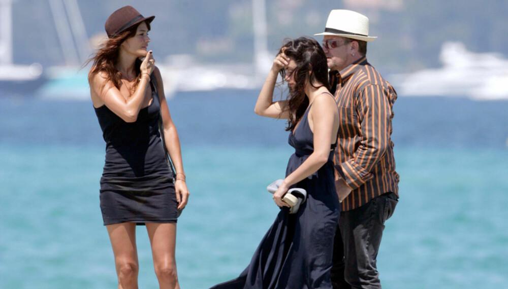Helena Christensen, Penelope Cruz og Bono