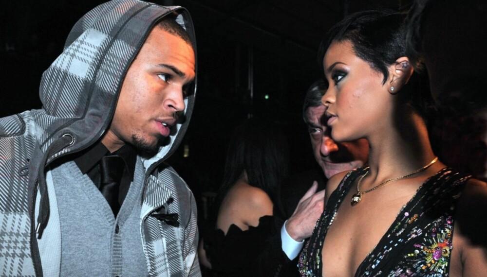 Chris Brown og Rihanna