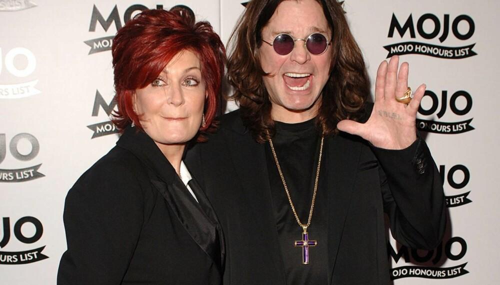 Sharon og Ozzy Osbourne
