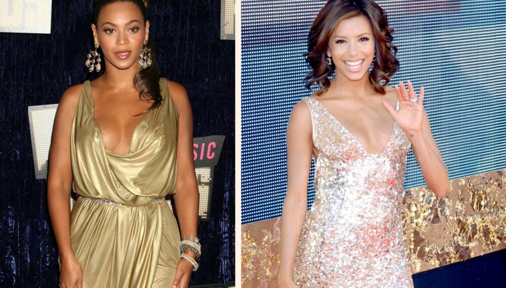 Beyoncé Knowles og Eva Longoria.
