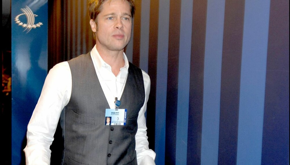 Brad Pitt på Clinton Global Initiative-møte i New York