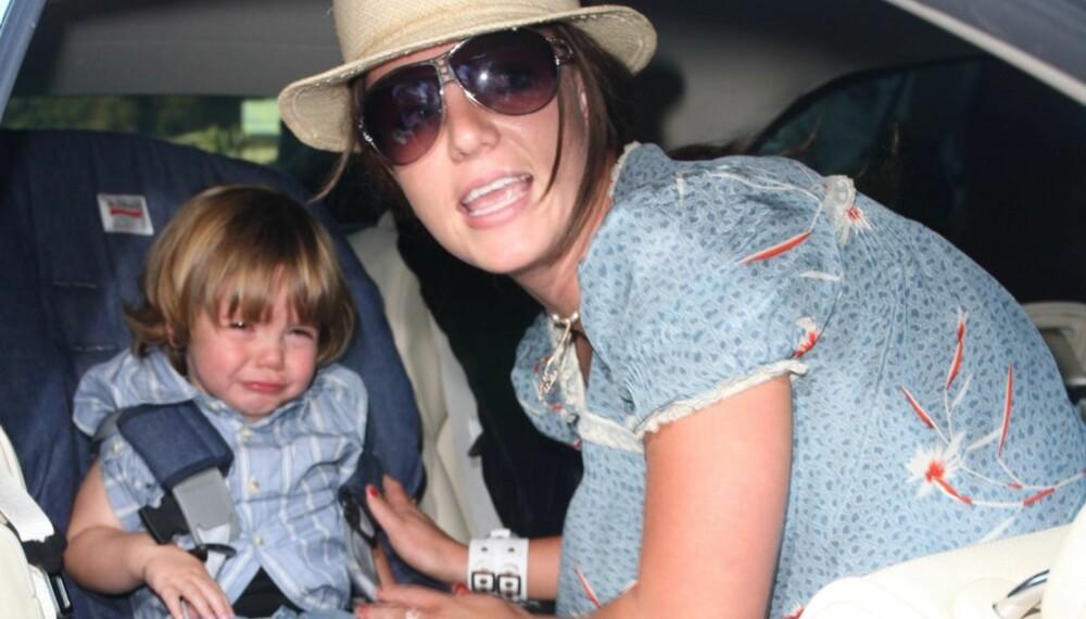 Britney Spears og sønnen Sean Preston
