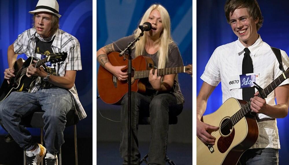 Første semifinale i Idol: Thomas, Isabella og Bent
