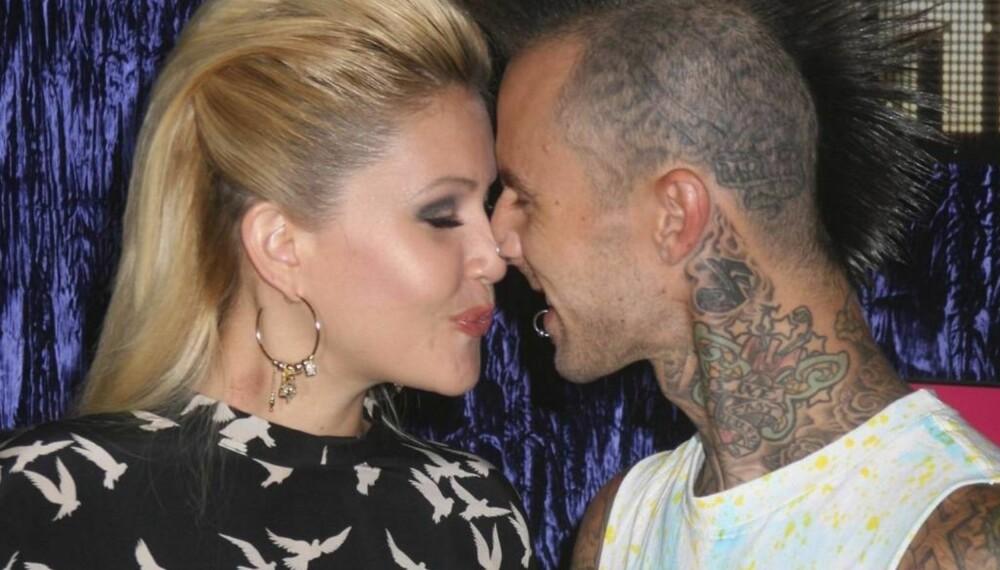 Shanna Moakler og Travis Barker