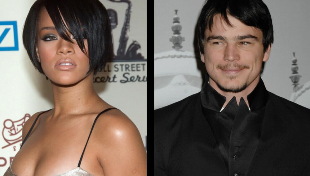 Rihanna og Josh Hartnett