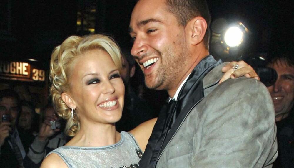 Kylie Minogue og William Baker