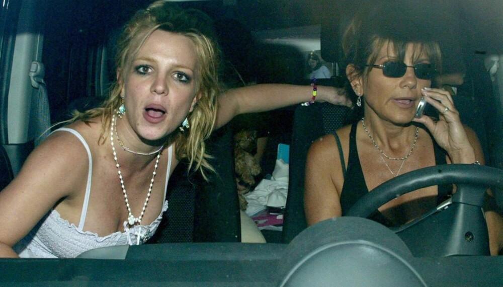 Britney og Lynne Spears