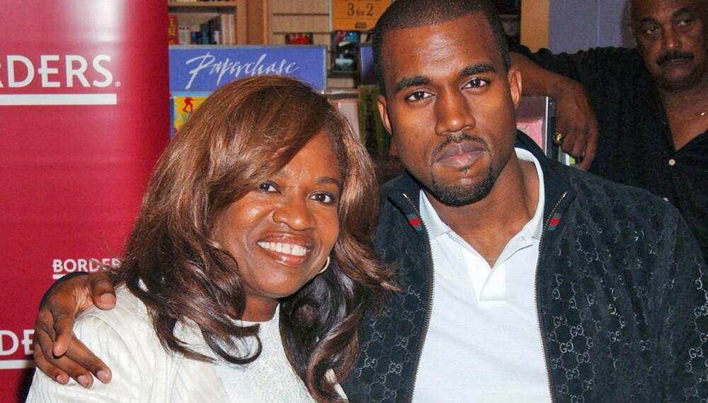 Kanye West og moren Donda